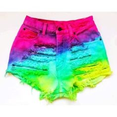 How To To Make Tie Dye Shorts