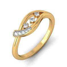 Gold Promise Rings For Her