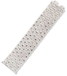 Diana M. Jewels Five-Row Emerald-Cut Diamond Bracelet Emerald Cut Diamonds, Halo Diamond, White Diamonds, Cool Gifts For Women, Halo Setting, Women Jewelry, Fine Jewelry, Neiman Marcus, The Row