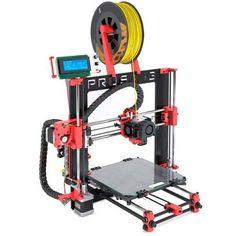 Impresora BQ 3D Prusa I3 Hephestos roja #geek #tecnologia #oferta #regalo #novedades