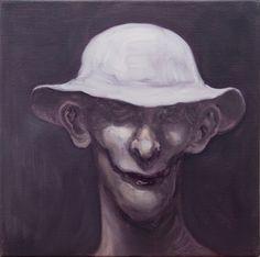 """Michael Kvium *1955 fremmaner i sine malerier et slags grusomhedens teater med repræsentanter for menneskeheden, idet han viser os """"Den skinbarlige sandhed."""" Kvium afprøver grænserne for, hvor langt man kan gå, hvad angår råhed og grotesker i vores samtid. Hermed bevarer han forbindelsen mellem værk og beskuer. Det er ikke Kvium, der er noget i vejen med. Det er tiden!"""