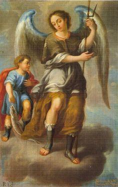 San Rafael Arcángel, Miguel Cabrera, Museo Nacional de Arte, Cdad. de México, D.F. | da Tach Jrez. Hra.