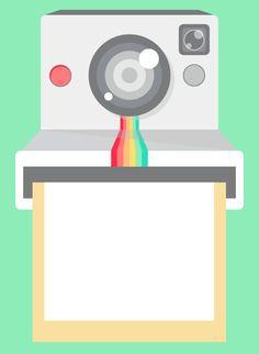 Disegnare in #Illustrator senza curve di Bezier: #tutorial + #freebie | How to draw a #polaroid #camera in #Illustrator: #tutorial + #vector #source #free #download | Pupixel Blog