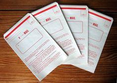Vintage Parcel Post Mailing Labels Booklet  Missive Maven On Etsy