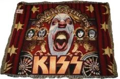 1999 KISS Throw Rug