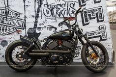 Harley-Davidson Street 500 - custom (Photo: Noel McKeegan/gizmag.com)