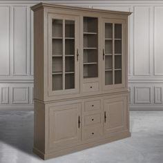 Шкаф-витрина Balzarine - Книжные шкафы, витрины, библиотеки - Гостиная и кабинет - Мебель по комнатам My Little France