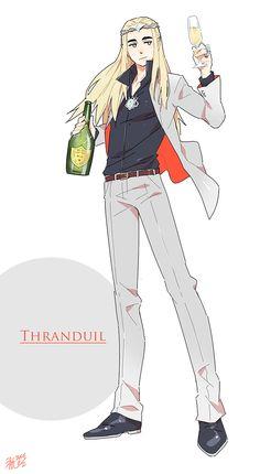 Thranduil - Dude, he looks pretty darn good! XP