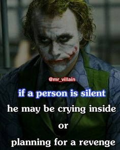 The Joker's Craziest Quotes of All Time - Hubviral Dark Quotes, Crazy Quotes, Badass Quotes, Me Quotes, Motivational Quotes, Inspirational Quotes, Joker Qoutes, Joker Heath, Joker And Harley Quinn