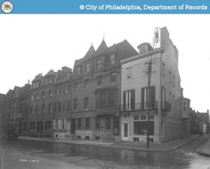 PhillyHistory.org - Perspective of South-east corner Camac and Locust St