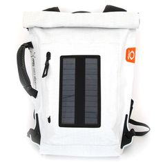 Solar Backpack White, 200€, now featured on Fab.