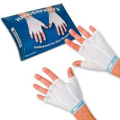"<big><b>Accoutrements Handerpants, by Amazon user Robert D. Walton: ""I mean, I always wanted my crotch and my hands to have more in common, now they do!"" </big></b> http://www.amazon.com/Accoutrements-11951-Handerpants/dp/B002Q0L6UK"