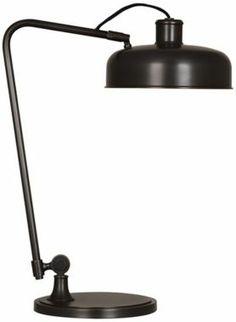 Robert Abbey Albert Bronze Metal Pharmacy Desk Lamp @EuroStyleLighting #interior_design #task_lamp