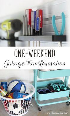 One-weekend Garage Transformation – Week 26