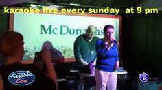 karaoke live singer Joan Brolly amazing new singing star just started singing after the death of her mother The voice of an angel that has been hidden for so. Brollies, Whiteboard, Karaoke, The Voice, Irish, Singing, Death, Stars, Live