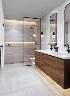 Contemporary bathrooms 721772277765449807 - 44 magnificient scandinavian bathroom design ideas that looks cool 28 Scandinavian Bathroom Design Ideas, Contemporary Bathroom Designs, Bathroom Layout, Modern Bathroom Design, Bathroom Interior Design, Bathroom Ideas, Bathroom Organization, Bathroom Storage, Bath Design