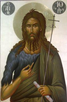 Byzantine Icons, Byzantine Art, Greek Icons, Romulus And Remus, John The Baptist, Religious Icons, Paintings I Love, Orthodox Icons, Museums