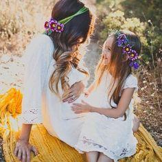 madre e hija