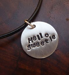 I have a t-shirt that says this Doctor Who Christmas, Christmas Tree, Hello Sweetie, Geronimo, Ponies, Hand Stamped, Dog Tag Necklace, Geek Stuff, River