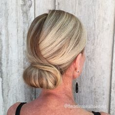 """""""Keeping it classic.  #bridalhair #weddinghair #classicchignon #classichair"""" Photo taken by @theconfessionsofahairstylist on Instagram, pinned via the InstaPin iOS App! http://www.instapinapp.com (04/18/2015)"""