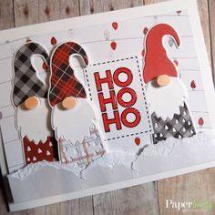 card kit 12 Days of Christmas Christmas Cards To Make, 12 Days Of Christmas, Homemade Christmas, Xmas Cards, Holiday Cards, Christmas Crafts, Merry Christmas, Christmas Gnome, Stampinup Christmas Cards