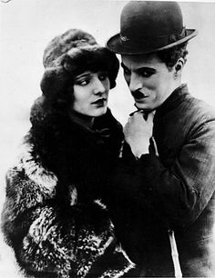 Charlie Chaplin and Georgia Hale in The Gold Rush (1925)