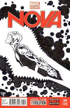 NOVA Blank Cover by Guillomcool
