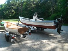 26' #FoggCraft & 12' #DownEastTender, we designs & we build our own!