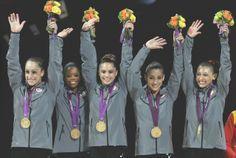 Team USA gold <3