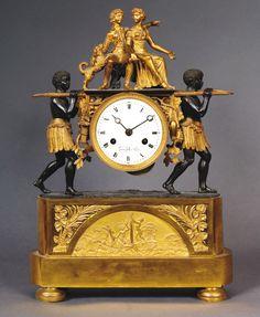The wild weather: the black clocks Large Vintage Wall Clocks, Antique Mantel Clocks, Old Clocks, Large Clock, Robinson Crusoe, Sistema Solar, French Clock, Classic Clocks, Black Clocks