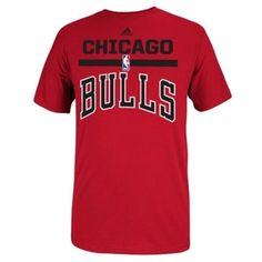Chicago #Bulls adidas 2014 #Draft Team Outlet T-Shirt - Red $21.95