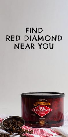Not your average cup of joe. Coffee Cans, Tea, Diamond, Drinks, Food, Drinking, Beverages, Eten, Diamonds