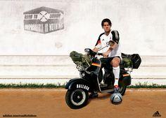 Michael Ballack,Adidas AD Road to Lisbon EURO2004