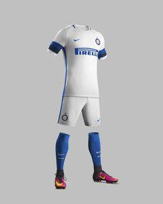 Camisas da Inter de Milao 2016-2017 Nike Reserva kit