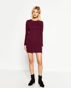 Image 1 of LONG SLEEVE DRESS from Zara
