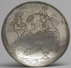 Madame de Pompadour (Sassanid plate depicting a King and Queen seated. King And Queen Seat, Parthian Empire, Sassanid, Historia Universal, Achaemenid, Ancient Persian, Roman Sculpture, Ancient Near East, Persian Culture