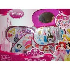 Disney Princess Make-Up Center (Featuring Various Princesses Including Ariel, Snow White, Sleeping Beauty, Cinderella, Belle, Tiana, and Rapunzel) by Disney Princess. $24.00. Disney Princess Make Up Center