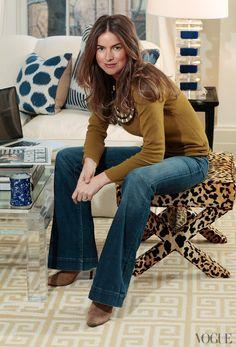 street-c0uture:  Sweater: Michael KorsJeans: J. BrandBoots: Chloe