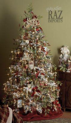 I like the Merry Christmas topper.