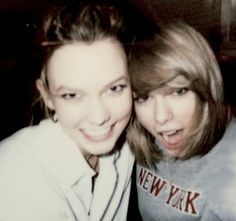 Taylor Swift and Karlie Kloss (x)