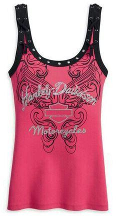 .harley Harley Davidson Womens Clothing, Harley Davidson T Shirts, Biker Chic, Biker Style, Women's Clothing, Rocker Chic Style, Cute Black Dress, Dress Up Day, Jackets