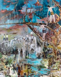 hernan bas art | Hernan Bas's Leaving the Nest (2008 )