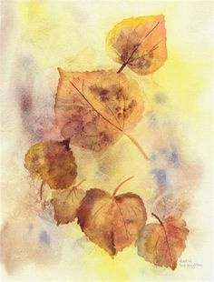 How to Paint Autumn Leaves