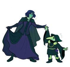 Mona and Plague Knight