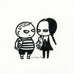 Pugsley & Wednesday Addams // The Addams Family