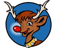 "Pin the Nose on Rudolph is a great Christmas game for your family and friends to play!  (It's a fun play off the old, ""Pin the tail on the donkey"".  It's FREE at www.ornamentshop.com.  Check it out!"