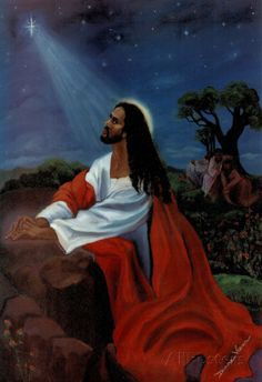 Black Jesus Christ Kneeling religious Print Poster 13 x Black Jesus Pictures, Black Art Pictures, Amazing Pictures, Black Art Painting, Black Artwork, Jesus Art, Jesus Christ, Savior, God Jesus