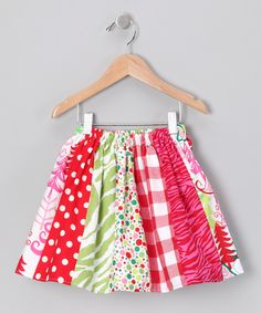 Christmas Skirt - Infant, Toddler & Girls