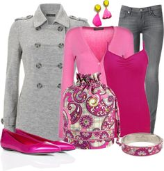 """Vera Bradley Bracelet & Ditty Bag"" by stay-at-home-mom on Polyvore"