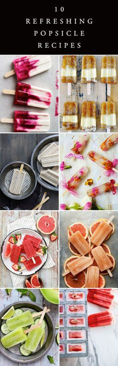 10 Best Homemade Popsicle Recipes